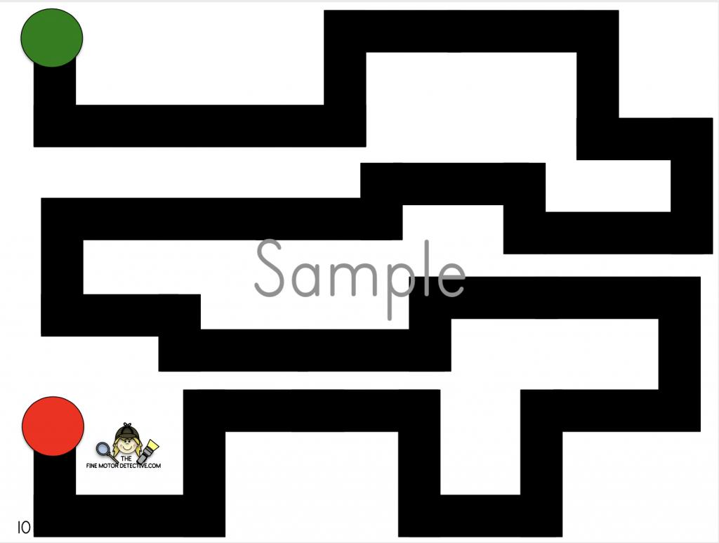 Maze Tracing