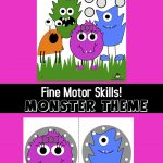 Monster Fine Motor Activities
