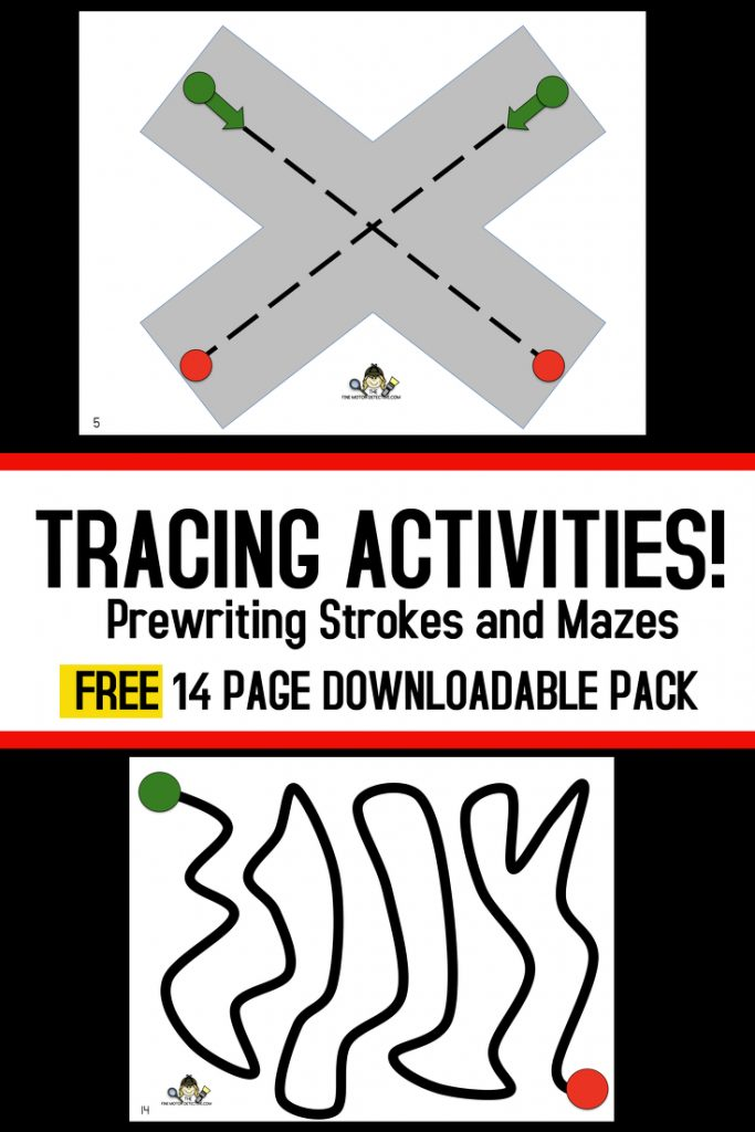 Tracing Activities Pinterest Picture