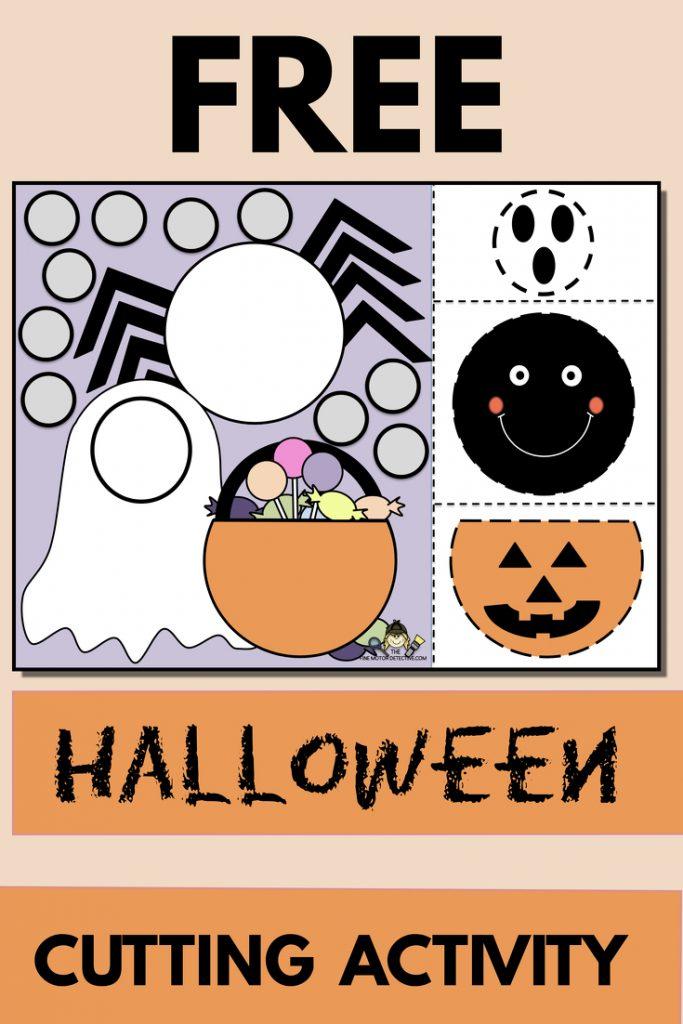 FREE Halloween Cutting Printable