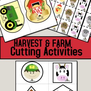 Farm Cutting Activities