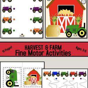 Farm Fine Motor Activities