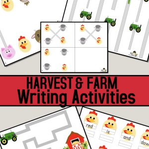 Farm Writing Activities