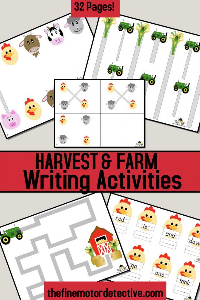Farm Writing Activities