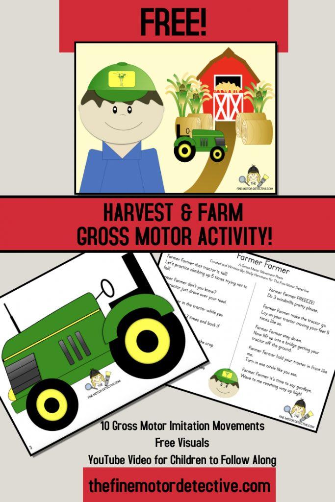 Farm Gross Motor Activities