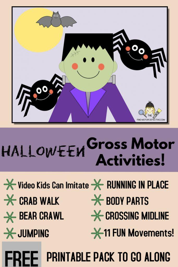 Halloween Gross Motor Skills