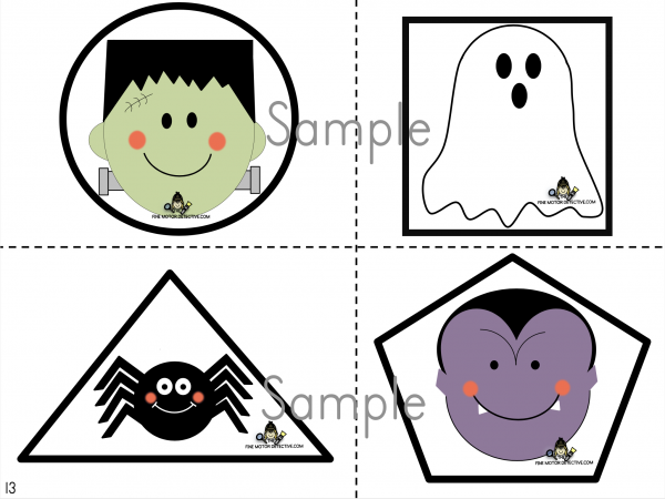 Cutting Shapes Printable