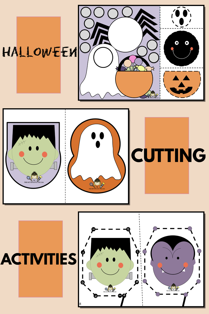 Halloween Cutting Activities