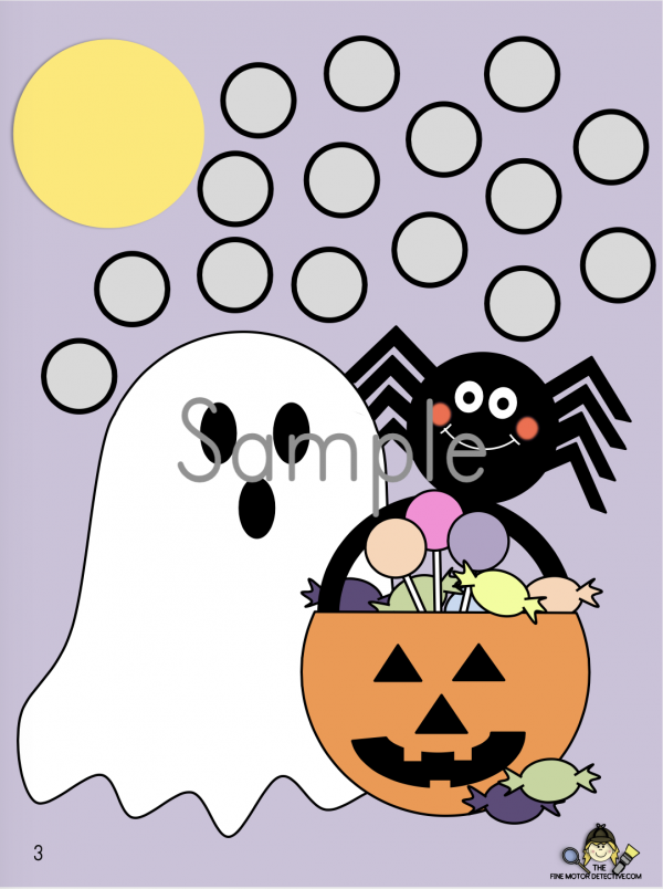 Halloween Manipulative Printable