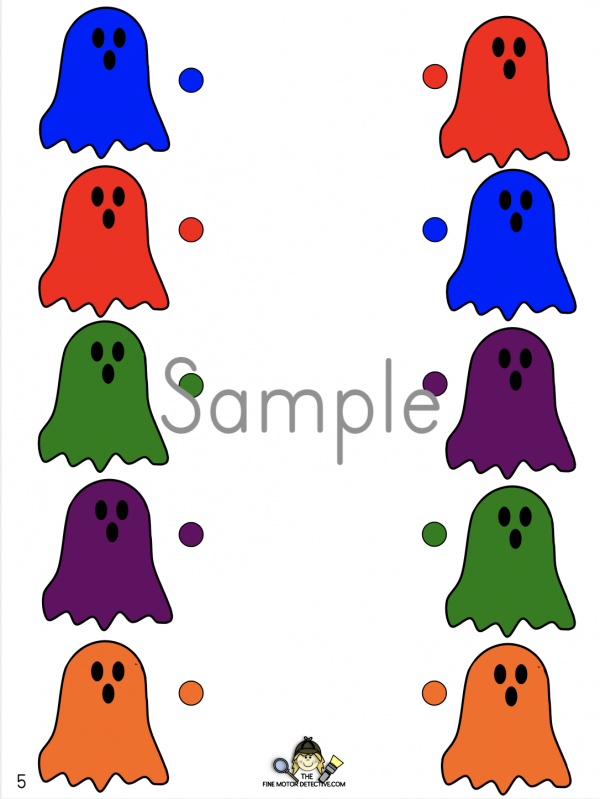 Halloween Matching Activity