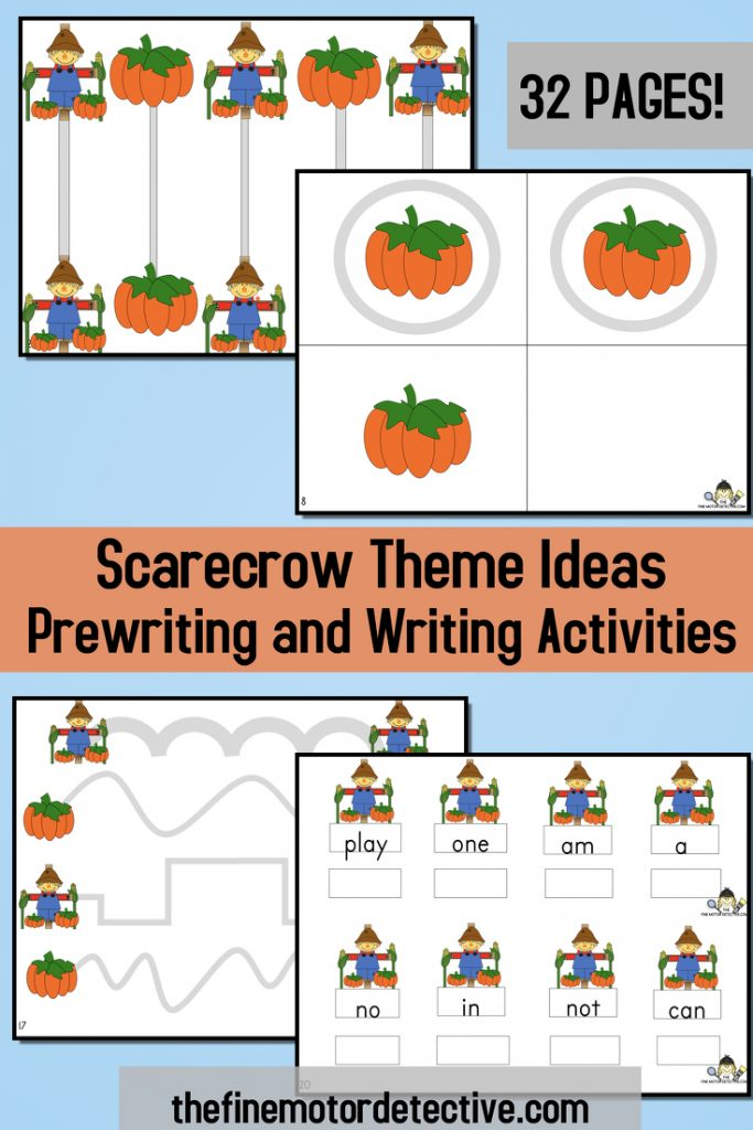 Scarecrow Writing Activities