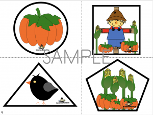 Scarecrow Shape Cutting Activities