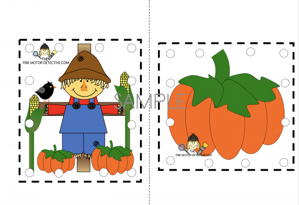 Scarecrow Hole Punch Activity