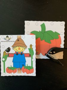 Scarecrow Hole Punch Activities
