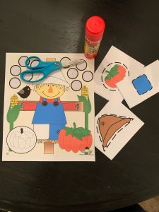 Scarecrow Cut and Paste Activity