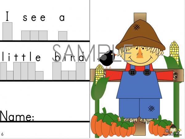 Scarecrow Theme ideas Writing Activities