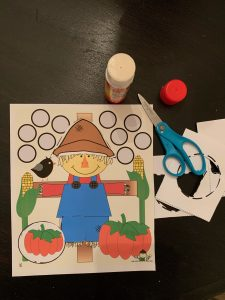 Scarecrow Cutting Activities