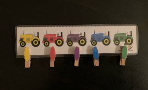 Farm Fine Motor Activities with Clothespins