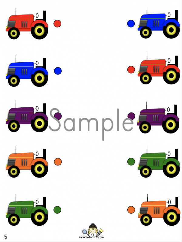 Farm Matching Activity
