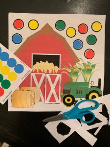 Farm Sticker Activity