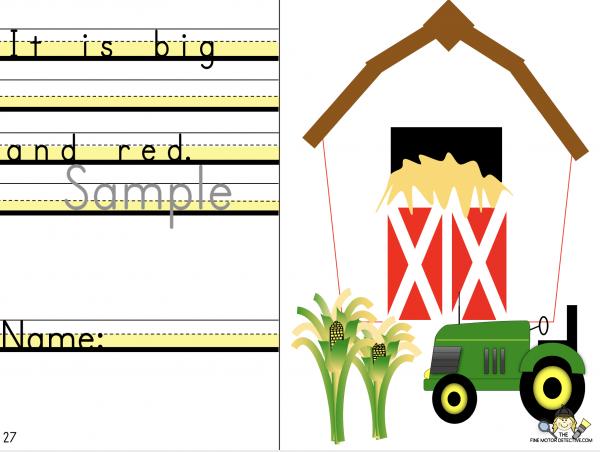 Sentence writing Practice