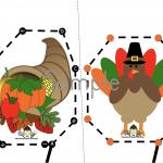 Free Thanksgiving Cutting Printables