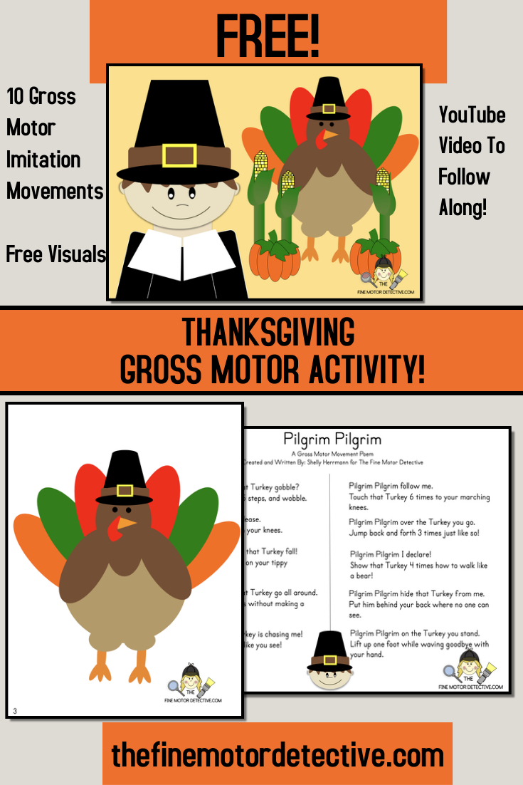 Thanksgiving Gross Motor Activities