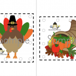 Free Thanksgiving Hole Punch Printables