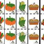Free Thanksgiving Precutting Printables