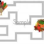 Free Thanksgiving Writing Printable