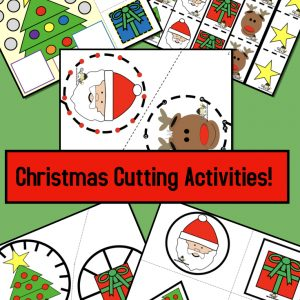 Christmas Cutting Activites