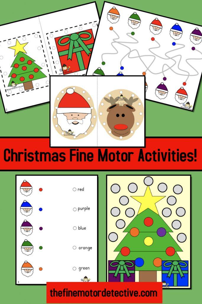 Christmas Fine Motor Activities