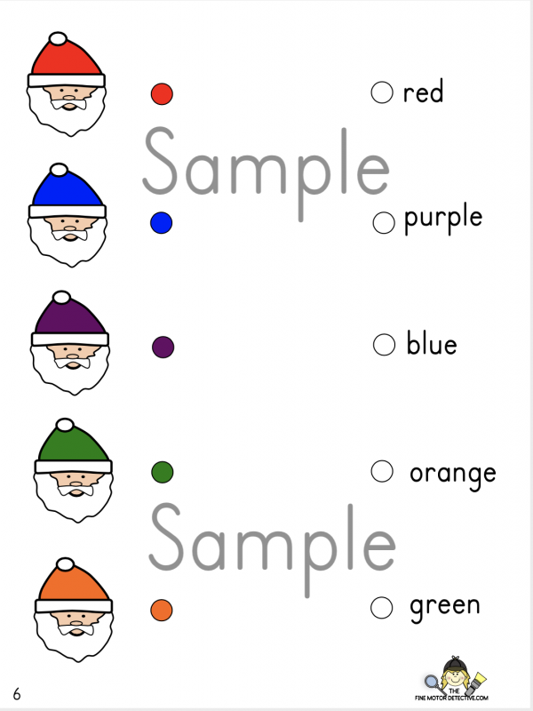 Christmas Color Match