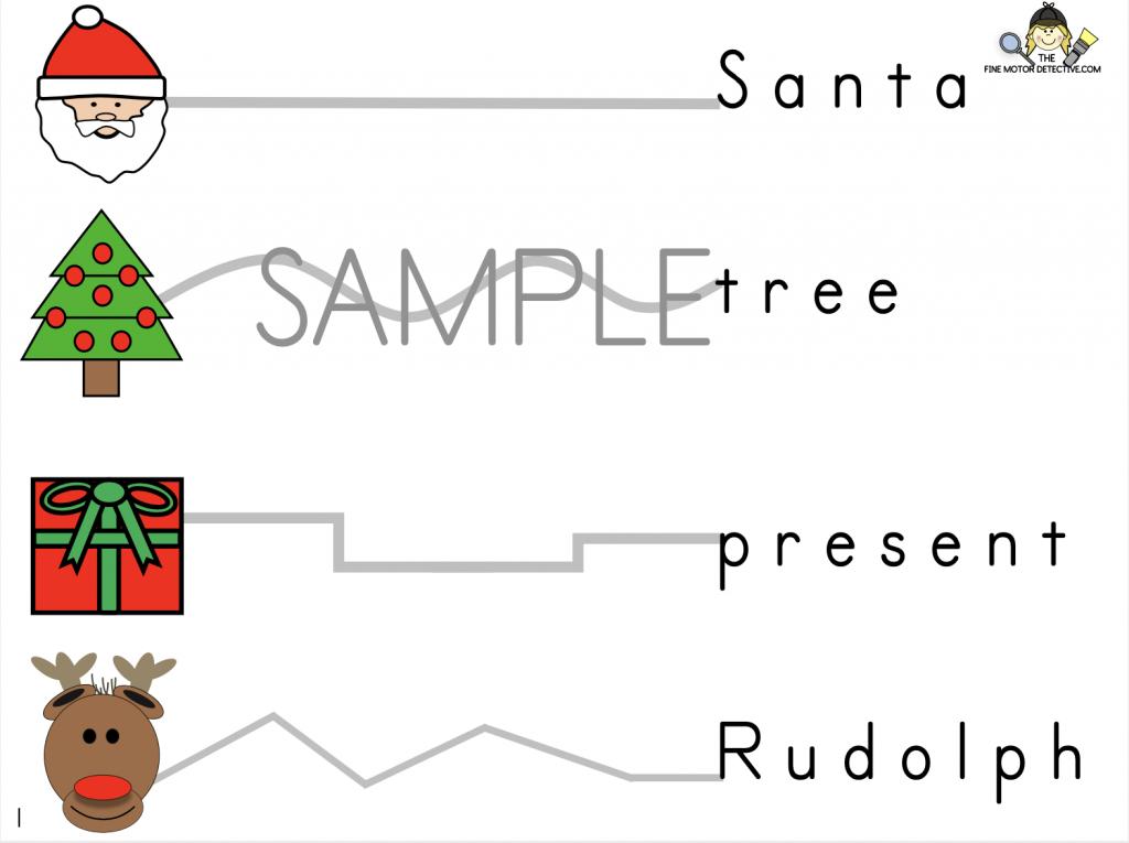 Christmas Fine Motor Printable