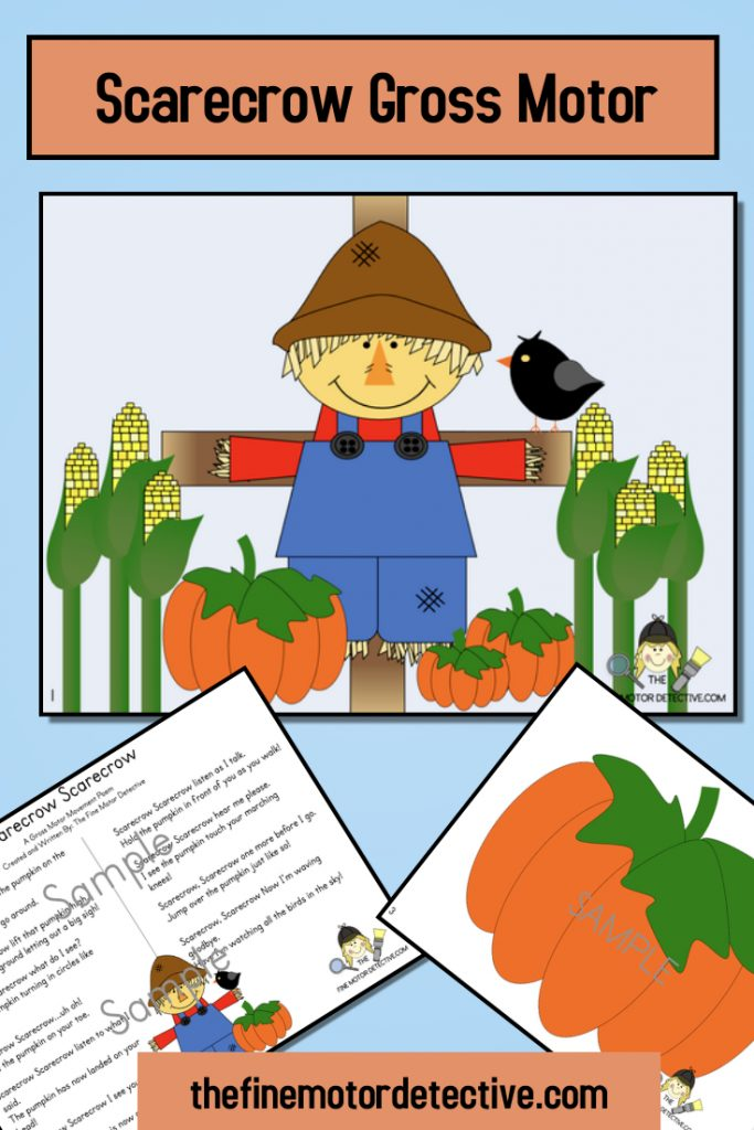 Scarecrow Gross Motor Activities