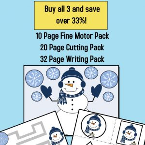 Snowman Bundle Activities