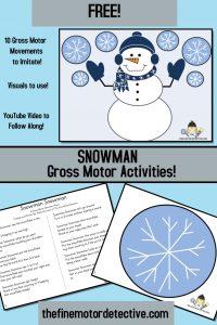 Winter Gross Motor Activities