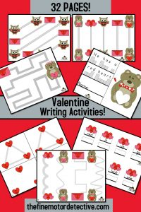 Valentine's Day Writing Activities