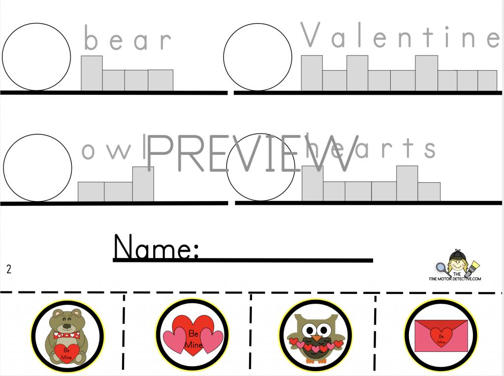 Valentine's Day Writing Worksheet