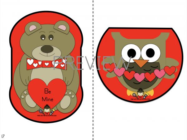 Valentine's Day Complex Cutting Practice