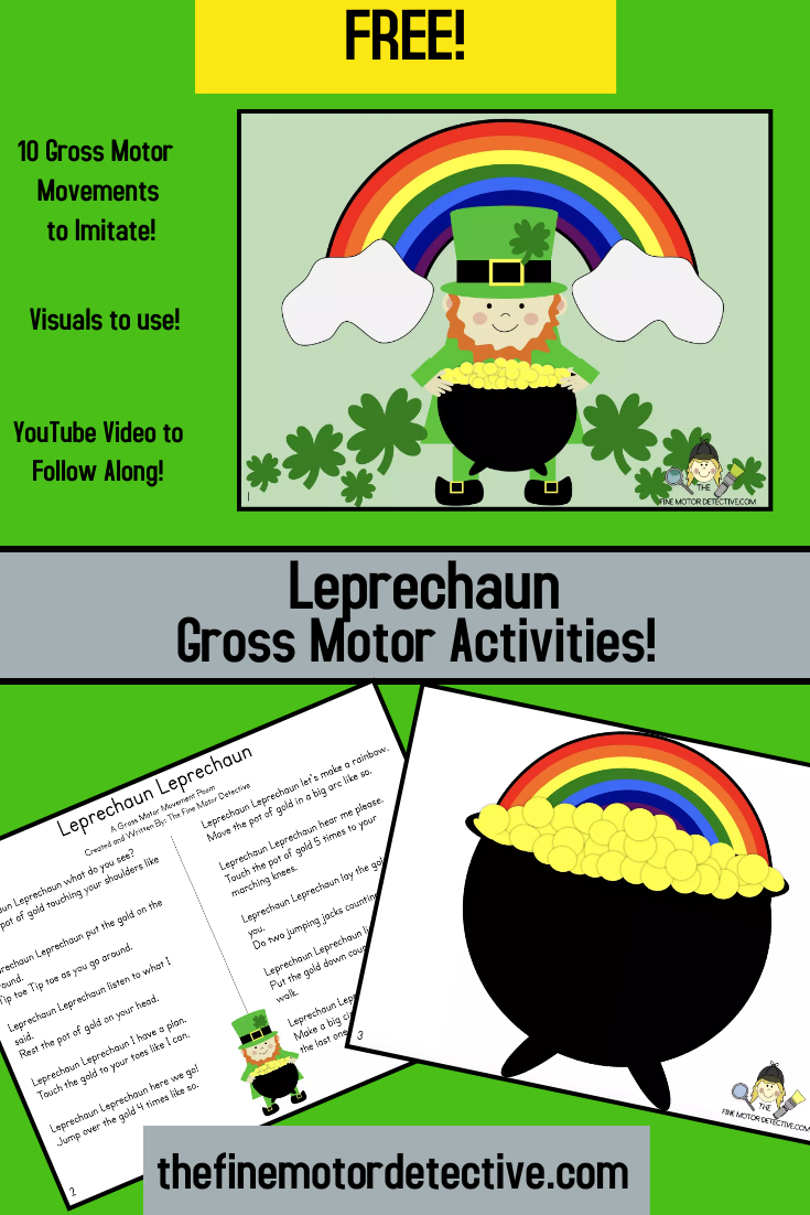 St. Patrick's Day Gross Motor Activities