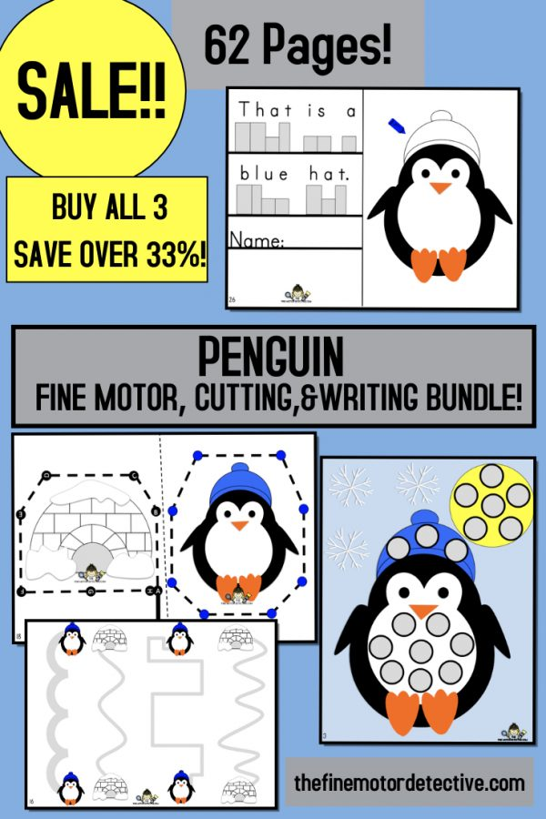Penguin Activities Bundle