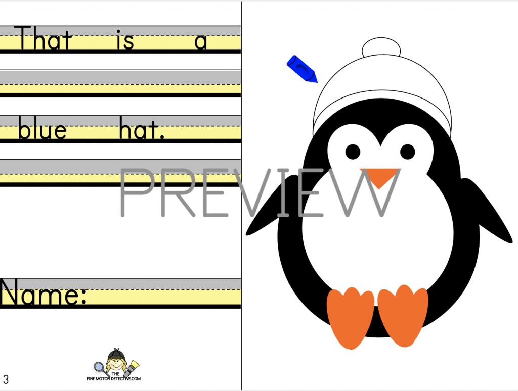 Free Penguin Printables