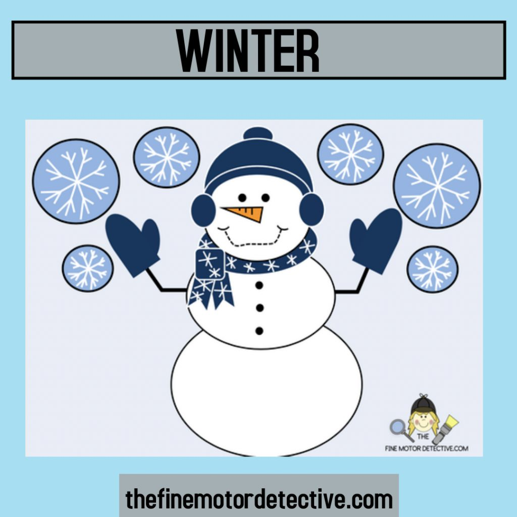Winter Theme Activities