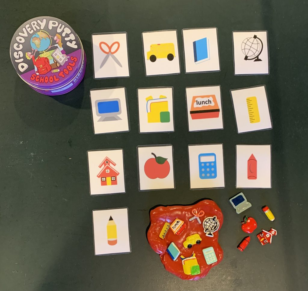 Visuals for Putty Activities