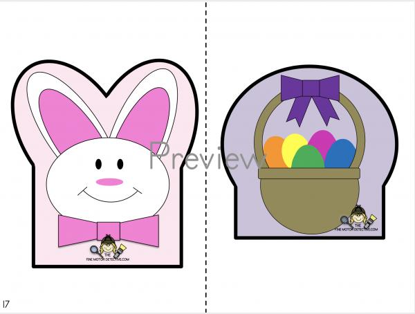 Easter Cutting Worksheet