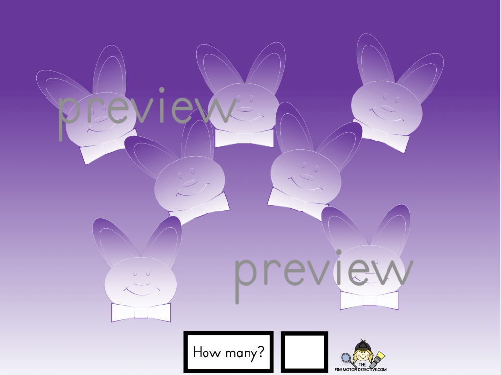 Easter Counting Activities