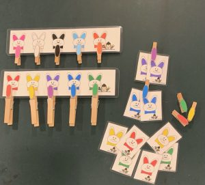 Easter Clothespin Activities