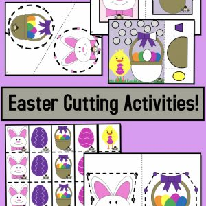 Easter Cutting Activities