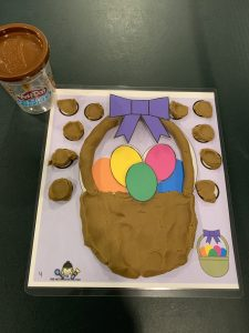 Easter Play Dough Activities